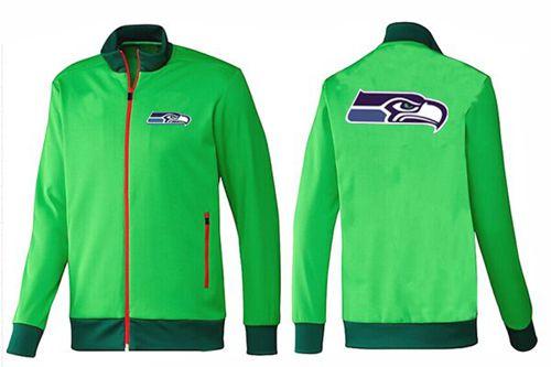 NFL Seattle Seahawks Team Logo Jacket Green_1