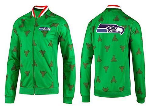 NFL Seattle Seahawks Team Logo Jacket Green_2