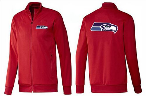 NFL Seattle Seahawks Team Logo Jacket Red