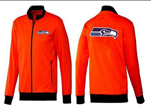 NFL Seattle Seahawks Team Logo Jacket Orange