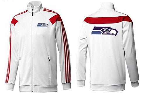 NFL Seattle Seahawks Team Logo Jacket White