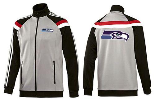 NFL Seattle Seahawks Team Logo Jacket Grey