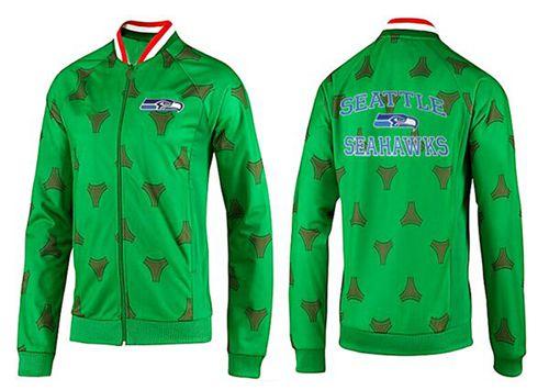 NFL Seattle Seahawks Heart Jacket Green_1