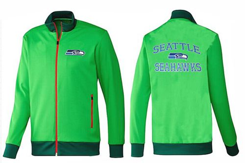 NFL Seattle Seahawks Heart Jacket Green_2