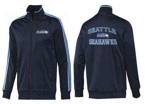 NFL Seattle Seahawks Heart Jacket Dark Blue