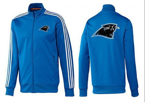 NFL Carolina Panthers Team Logo Jacket Blue_3