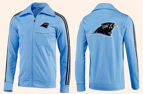 NFL Carolina Panthers Team Logo Jacket Light Blue