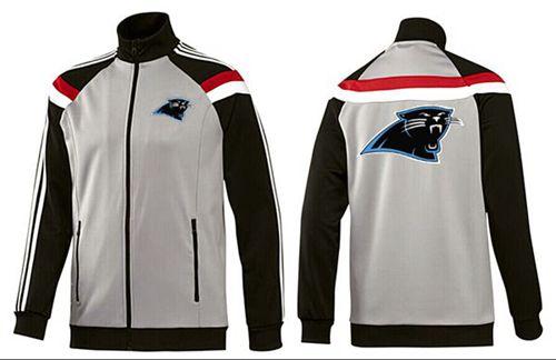 NFL Carolina Panthers Team Logo Jacket Grey