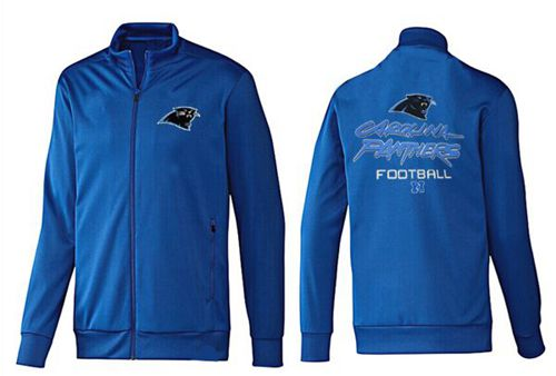 NFL Carolina Panthers Victory Jacket Blue_1