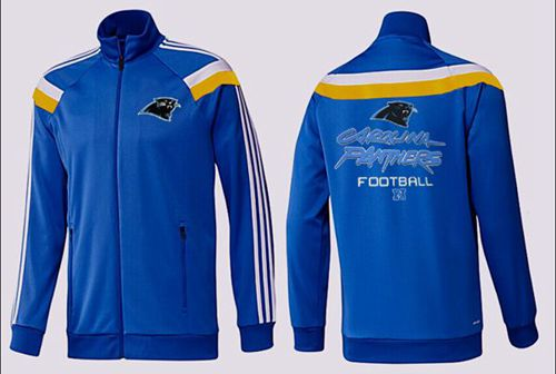 NFL Carolina Panthers Victory Jacket Blue_2