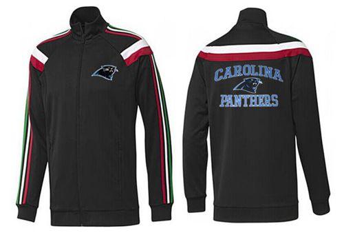 NFL Carolina Panthers Heart Jacket Black_1