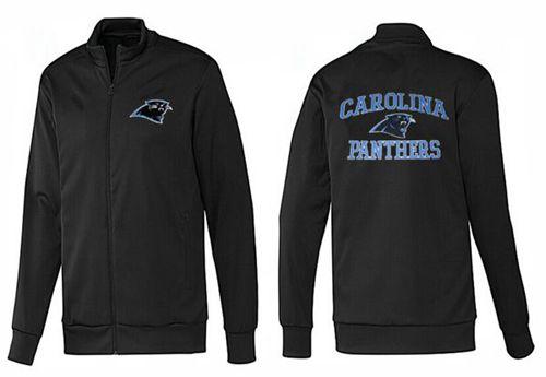 NFL Carolina Panthers Heart Jacket Black_2