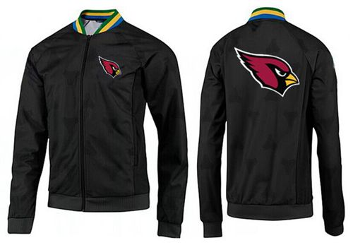 NFL Arizona Cardinals Team Logo Jacket Black_3