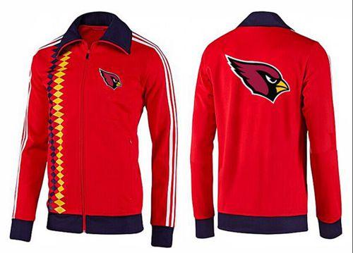 NFL Arizona Cardinals Team Logo Jacket Red_2
