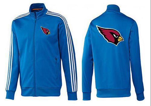 NFL Arizona Cardinals Team Logo Jacket Blue_1