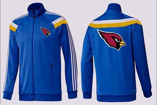 NFL Arizona Cardinals Team Logo Jacket Blue_2