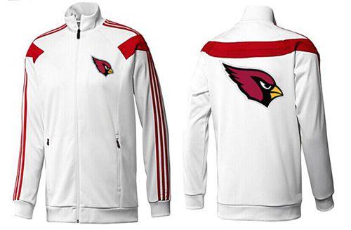 NFL Arizona Cardinals Team Logo Jacket White_1