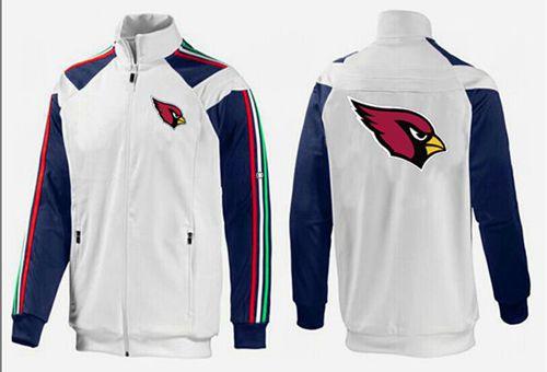 NFL Arizona Cardinals Team Logo Jacket White_2