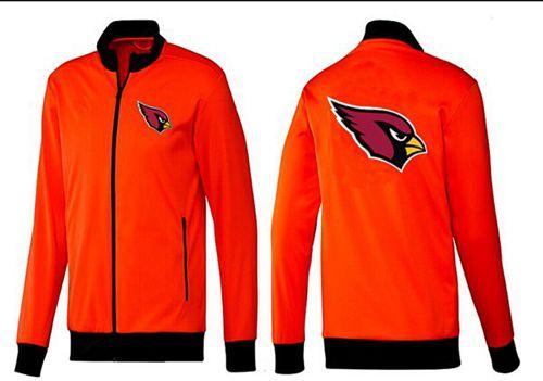 NFL Arizona Cardinals Team Logo Jacket Orange