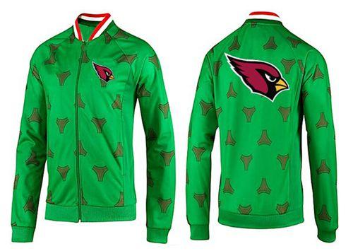 NFL Arizona Cardinals Team Logo Jacket Green
