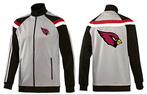 NFL Arizona Cardinals Team Logo Jacket Grey