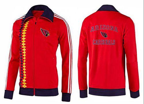 NFL Arizona Cardinals Heart Jacket Red
