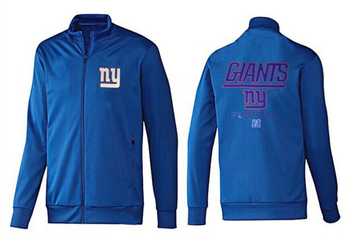 NFL New York Giants Victory Jacket Blue_1