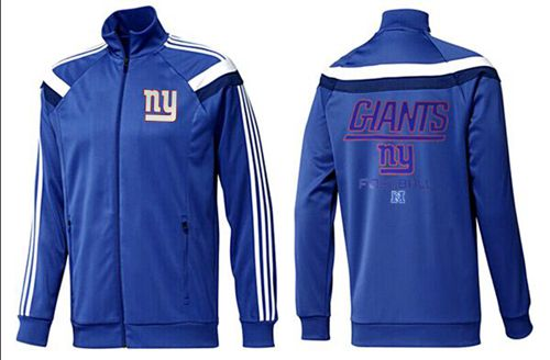 NFL New York Giants Victory Jacket Blue_2
