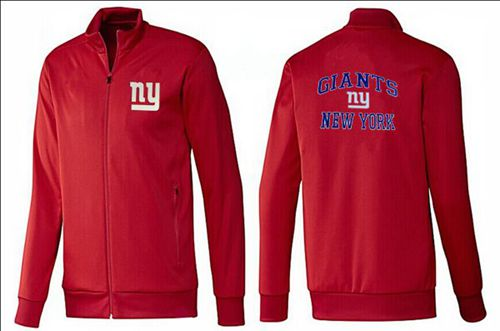 NFL New York Giants Heart Jacket Red