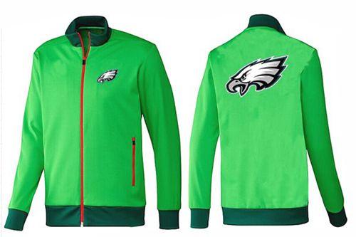 NFL Philadelphia Eagles Team Logo Jacket Green_1
