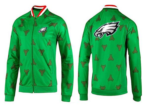NFL Philadelphia Eagles Team Logo Jacket Green_2