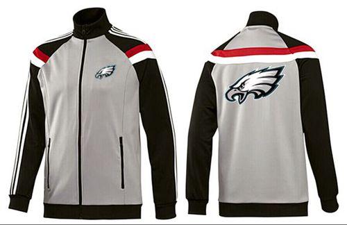 NFL Philadelphia Eagles Team Logo Jacket Grey