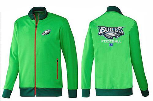 NFL Philadelphia Eagles Victory Jacket Green_2