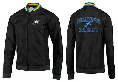 NFL Philadelphia Eagles Heart Jacket Black