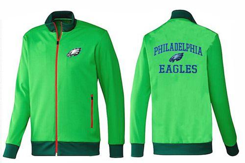 NFL Philadelphia Eagles Heart Jacket Green