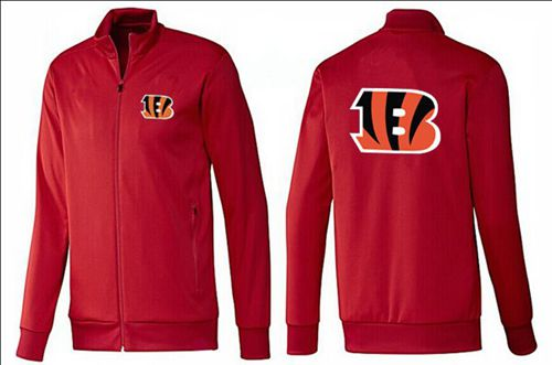 NFL Cincinnati Bengals Team Logo Jacket Red