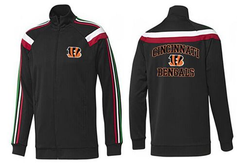NFL Cincinnati Bengals Heart Jacket Black_1