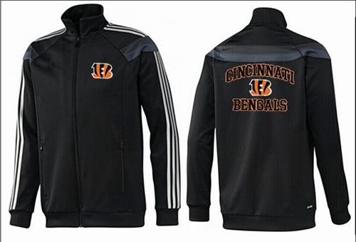 NFL Cincinnati Bengals Heart Jacket Black_2