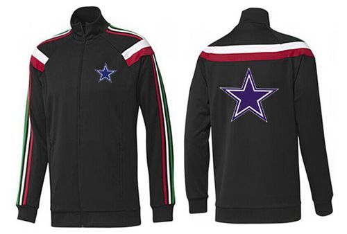 NFL Dallas Cowboys Team Logo Jacket Black_2