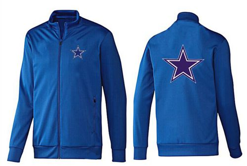 NFL Dallas Cowboys Team Logo Jacket Blue_2