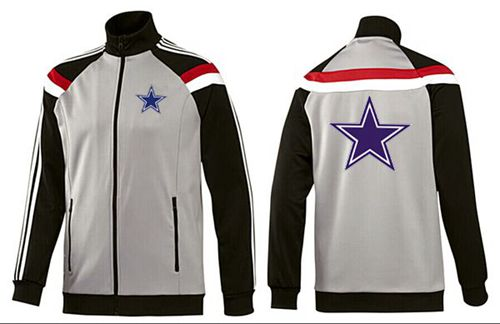 NFL Dallas Cowboys Team Logo Jacket Grey