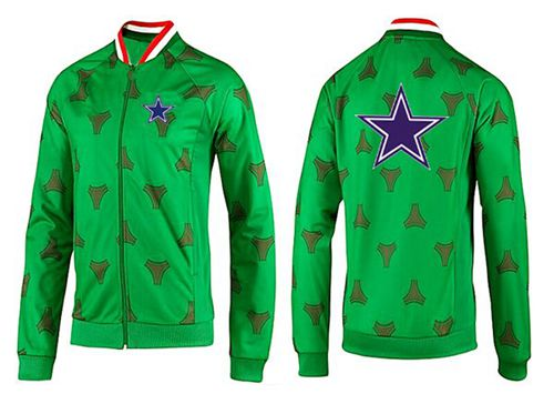 NFL Dallas Cowboys Team Logo Jacket Green
