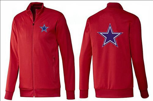 NFL Dallas Cowboys Team Logo Jacket Red