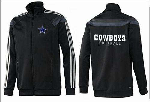 NFL Dallas Cowboys Authentic Jacket Black