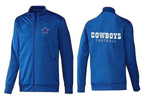 NFL Dallas Cowboys Authentic Jacket Blue