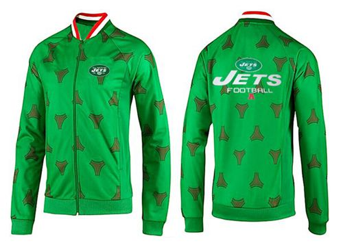 NFL New York Jets Victory Jacket Green_1
