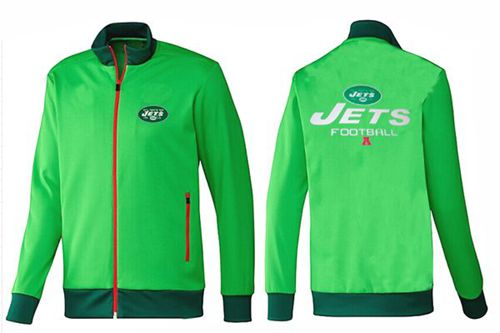 NFL New York Jets Victory Jacket Green_2
