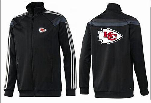 NFL Kansas City Chiefs Team Logo Jacket Black_3
