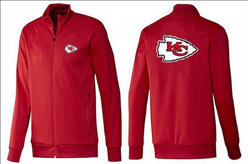 NFL Kansas City Chiefs Team Logo Jacket Red_1
