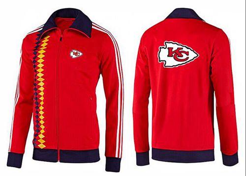 NFL Kansas City Chiefs Team Logo Jacket Red_2